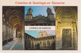 (H38) CAMINO DE SANTIAGO EN NAVARRA. CHEMIN DE SAINT JACQUES. PAMPLONA. CATEDRAL - Navarra (Pamplona)