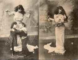 Année, Date, Millesime 1903 - J'appelle La Santé, J'apporte L'amour (femme) - Nouvel An