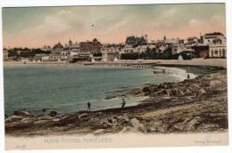 Uruguay Montevideo Tarjeta Postal Ed. Strobach Nº61 Pocitos Vintage Original Ca1900 Postcard Cpa Ak (W4_1817) - Uruguay