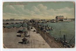 Uruguay Montevideo Tarjeta Postal Ed. Strobach Nº104 Puerto Dock Vintage Original Ca1900 Postcard Cpa Ak (W4_1822) - Uruguay