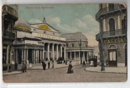 Uruguay Montevideo Tarjeta Postal Ed. Strobach Nº98 Solis Theatre & Cinema Original Ca1900 Postcard Cpa Ak (W4_ - Uruguay