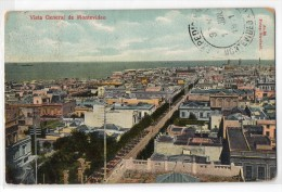 Uruguay Montevideo Tarjeta Postal Ed. Strobach Nº98  Street View Original Ca1900 Postcard Cpa Ak (W4_1825) - Uruguay