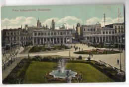 Uruguay Montevideo Tarjeta Postal Ed. Strobach Nº87 Plaza Independencia Original Ca1900 Postcard Cpa Ak (W4_1828) - Uruguay