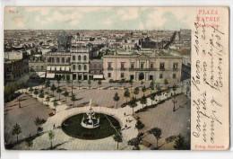 Uruguay Montevideo Tarjeta Postal Ed. Strobach Nº1 Plaza Matriz Original Ca1900 Postcard Cpa Ak (W4_1831) - Uruguay