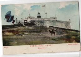 Uruguay Montevideo Tarjeta Postal Ed. Strobach Nº22 Cerro Lighthouse Original Ca1900 Postcard Cpa Ak (W4_1840) - Uruguay