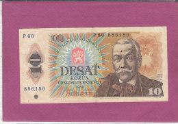10 DESAT  CESKOSLOVENSKYCH  1986 - Cecoslovacchia