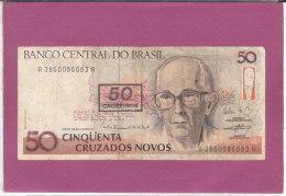 50 CINQÜENTA CRUZADOS NOVOS - Brésil