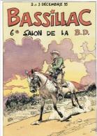 Carte Postale ROUGE Michel Festival BD Bassillac 1995 (Comanche Blueberry - Cartoline Postali