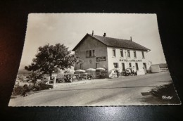 "CPA BERGESSERIN. Hotel ""Le Relais"" Logis De Bourgogne. Carte Animée. - France"