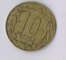 10 Francs 1961 Afrique Equatoriale CAMEROUN - Cameroun