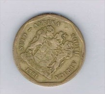 50 Cents 1991 SUID-AFRIKA - SOUTH AFRICA - Monnaies