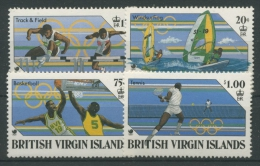 Britische Jungferninseln 1988 Olympiade Seoul 621/24 Postfrisch (R21874) - British Virgin Islands