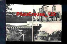 """15 Cantal - MAURIAC - """" Souvenir De Mauriac - Carte Multivues """" - Mauriac"""