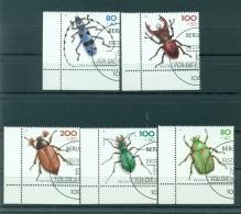 Allemagne -Germany 1993 - Michel N. 1666/70 - Coléoptères En Voie De Disparition - [7] République Fédérale