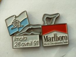 PIN´S F1 GRAND PRIX D'IMOLA - 28 AVRIL 1991 - MARLBORO - F1