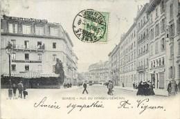 GENEVE RUE DU CONSEIL GENERAL SUISSE SWITZERLAND - GE Genf
