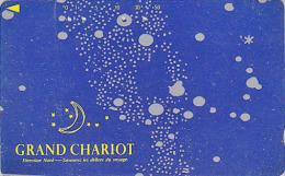 Télécarte Japon - Astronomie - ZODIAQUE - GRAND CHARIOT / FRANCE Related - Horoscope ZODIAC Japan Phonecard - 782 - Astronomie