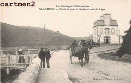SAINT-BRIEUC ENTREE DU PONT DE SOUZIN ET ROUTE DU LEGUE ATTELAGE 22 - Saint-Brieuc