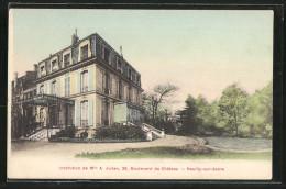 CPA Neuilly-sur-Seine, Institution De Mlle A. Julien, Boulevard Du Château - Neuilly Sur Seine