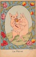 Llustrateur - COCHONS - Le Péché - Pigs