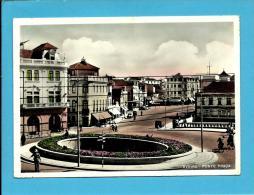 AVEIRO - 1954 - Ponte Praça - Polícia Sinaleiro - Ambulância NORTE III - PORTUGAL - Ed. LUXO Papelaria Avenida N.º - Aveiro