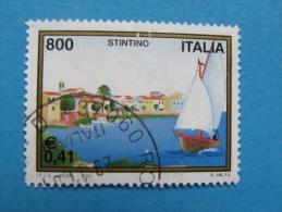 ITALIA USATI 2001 - Turistica STINTINO  - RIF. G 1827 LUSSO - 6. 1946-.. Repubblica