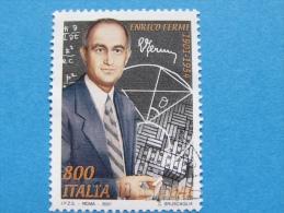ITALIA USATI 2001 - ENRICO FERMI - RIF. G 1839 LUSSO - 6. 1946-.. Repubblica