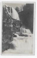 (RECTO / VERSO) BOURG DE SIROD EN 1929 - LA CASCADE - CARTE PHOTO FORMAT CPA - Andere Gemeenten