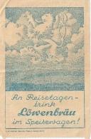 Ticket De Restaurant Train Allemagne Et Réservation RRR Lot De 2 Documents - Deutschland