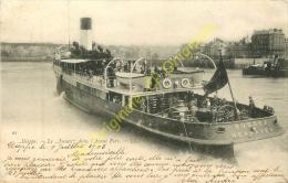 76. DIEPPE . Le SUSSEX Dans L'avant Port . - Dieppe