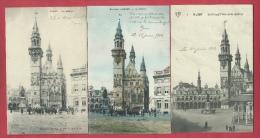 Aalst / Alost - Le Beffroi - 3 Cartes Postales - 1912 ( Verso Zien ) - Aalst