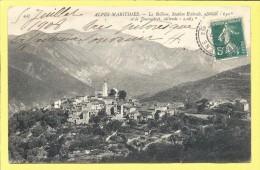 CPA 06 LA BOLLENE VESUBIE   Vue Generale 1908 ( Cachet La BOLLENE ) - Andere Gemeenten