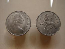PA. Mo. 19. Elisabeth. II. 10 New Pence. - 10 Pence & 10 New Pence