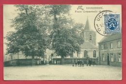 Linkebeek - Place Communale Et L'Eglise  ( Verso Zien ) - Linkebeek