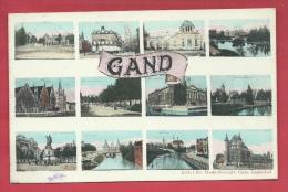 Gent / Gand - Postkaart Multiviews  - 1911 ( Verso Zien ) - Gent