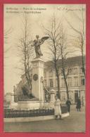 St-Niklaas - Regentieplaats - 1913 ( Verso Zien ) - Sint-Niklaas