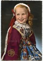 La Bretagne - Petite Fille De PLOUGASTEL-DAOULAS (Finistère) - écrite Non Timbrée - 2 Scans - Plougastel-Daoulas