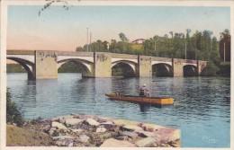 87----SAINT-JUNIEN---pont Notre-dame Vu Du Quai Des Mégisseries---voir 2 Scans - Saint Junien