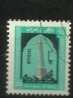 Iraq - 1974 Minaret Official 35f Used  Sc O303 - Iraq