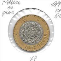 *mexico 10 Pesos 1997  Km 616  Xf - Mexique