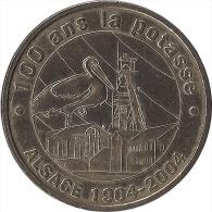S04A147 - 2004 UNGERSHEIM - La Potasse 100 ANS / MONNAIE DE PARIS