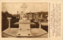 San José De Costarica - Cartolina Antica MAUSOLEO DE LA FAMILIA SALAZAR CHAVARRIA (U. Luisi & C.) - PERFETTA L55 - Costa Rica