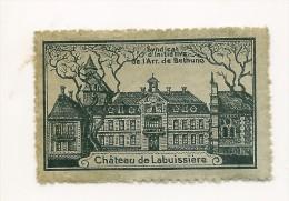 Chateau De LABUISSIERE  Arr De Béthune  Vignette - Vignetten (Erinnophilie)