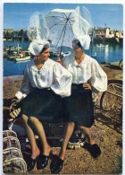 Folkore De France - La Vendée - Costumes Sablais - La Causette - SABLES D'OLONNE - écrite Non Timbrée - 2 Scans - Sables D'Olonne