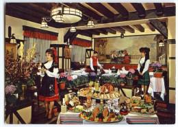 L'Auberge De Riquewihr - Restaurant Alsacien - Coiffes Et Costumes D'Alsace - Non écrite - 2 Scans - Cafés, Hôtels, Restaurants