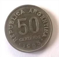 ARGENTINE - 50 Centavos 1955 - - Argentine