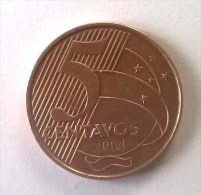 5 Centavos 2004 - BRESIL - - Brazil