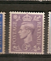Great Britain * &  George  VI 1937-1947 (214) - Zonder Classificatie