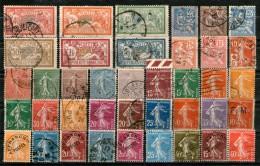 France 39 Oblitérés Et Neuf Sans Gomme_bonne Cote - Collections