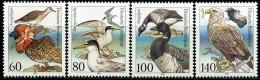 BRD - Michel 1539 / 1542 - ** Postfrisch (D) - Seevögel - [7] République Fédérale